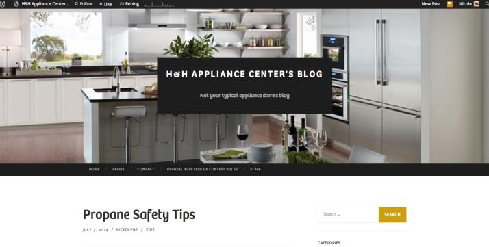 H&H Appliance Center's Blog