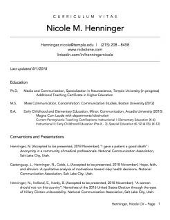 Henninger.CV.2018.1