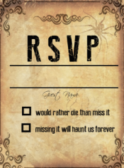 Wedding Invite for My Sister :)