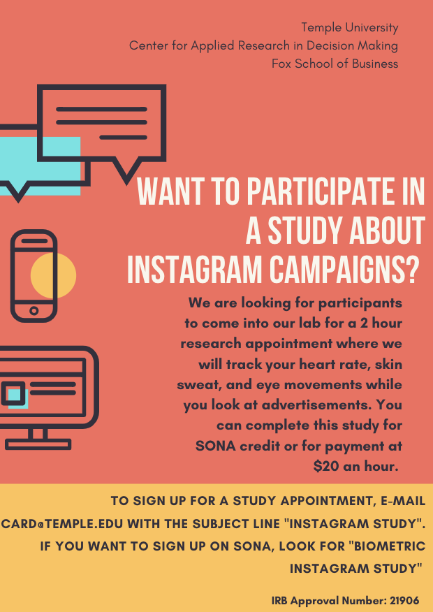Recruiting Flyer for Dissertation Study